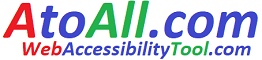 Web accessibility tool to all disabled